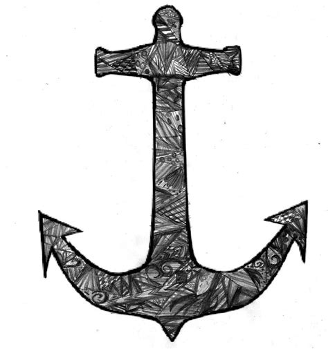 doodle jangkar anchor drawings with quotes quotesgram
