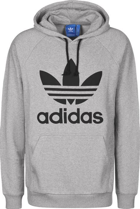 Trefoil Hoodie adidas trefoil hoodie grau meliert