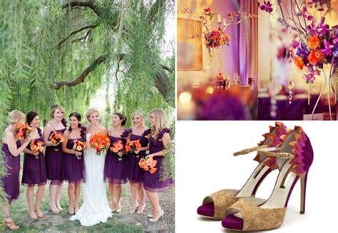 burnt orange and plum wedding   images of wedding shoes