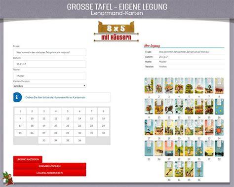 lenormandkarten grosse tafel kartenlegung gro 223 e tafel 8x5 mit h 228 usern f 252 r die