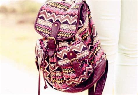 Free Tribal Floral Bag by Bag Tribal Pattern Backpack Colorful Handmade Floral