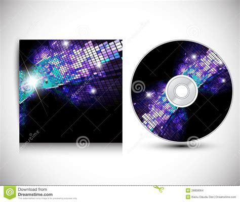cd jacket design template cd cover design template stock images image 26858064