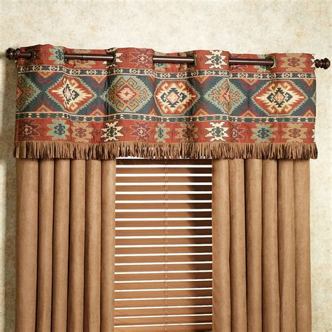 southwest style curtains canyon ridge grommet window treatment