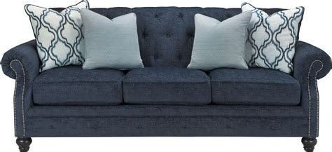 idaho sofa lavernia navy sofa from ashley coleman furniture