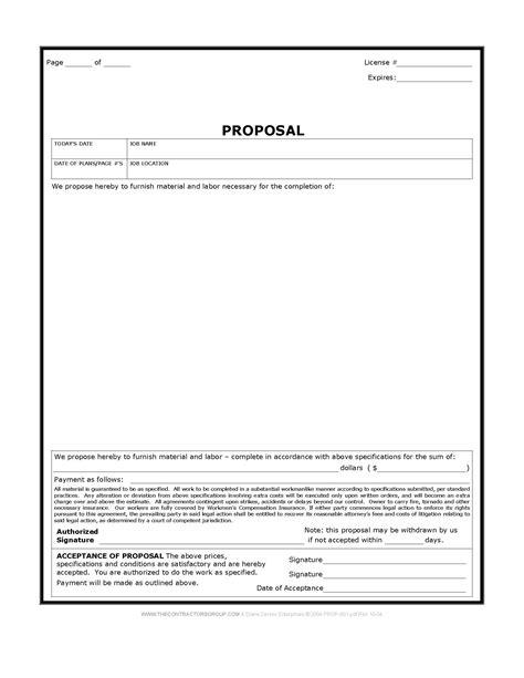 free construction forms templates construction form bid form estimate form
