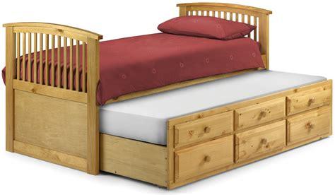 storage guest bed antique pine