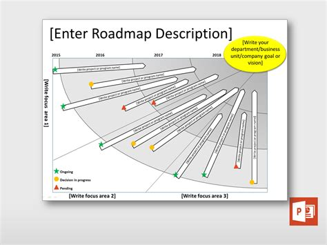 free project roadmap template strategy roadmap diagram project templates guru