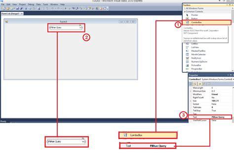 4 Pemrograman Database Dengan Visual Basic 2010 Untuk Orang Awam pemrograman database dengan vb dan access dapur tekkom