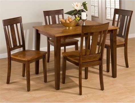 jofran kura 5 small dining table set modern