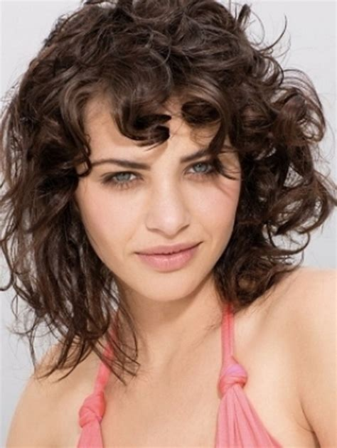 best haircut fine curly thin hair and fat face fine curly hairstyles