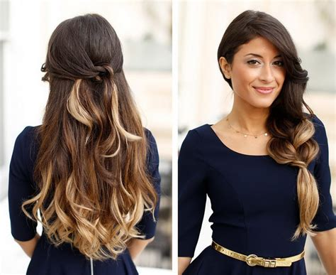 hairstyles for long hair how to 19 how to style long hair in an easy and cute way
