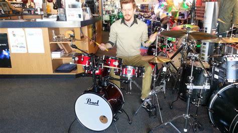 Set Minie Kid mapex shell kit saturn pearl drum kit rhythm traveler