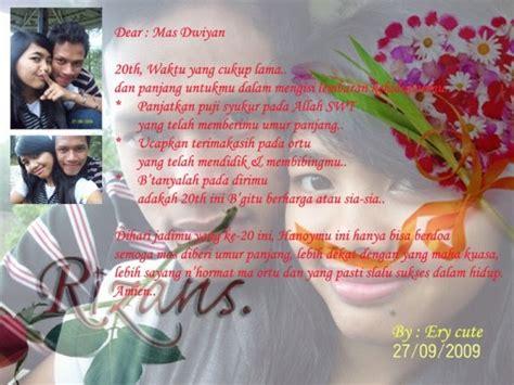 contoh surat ucapan ultah untuk kekasih