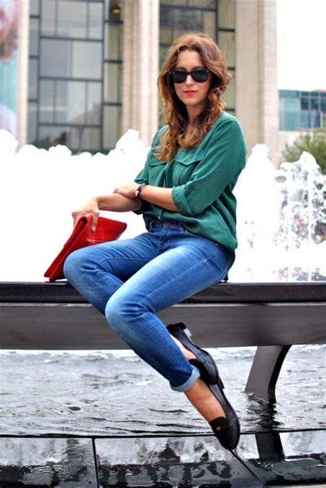 loafer style fall fashion trend how to style classic loafers