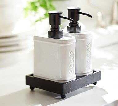 bathroom soap and lotion dispenser set rhodes ceramic book shaped soap lotion caddy traditional