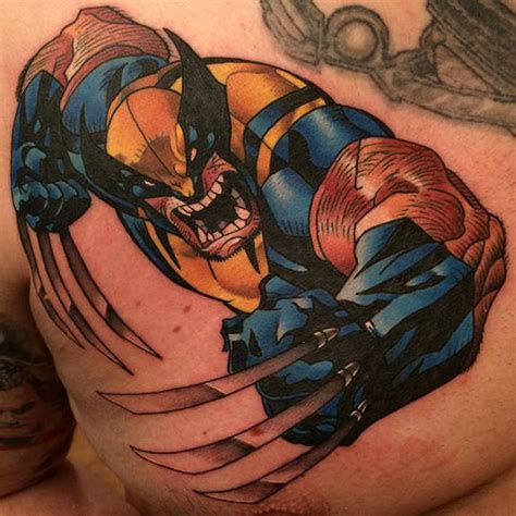 logan wolverine tattoo by dane grannon