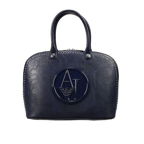 Giorgio Armani Handbag Big Size giorgio armani handbag bag ecoleather soft with studds bugatti in blue lyst