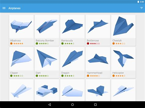 origami tricks paper airplanes app ranking and store data app