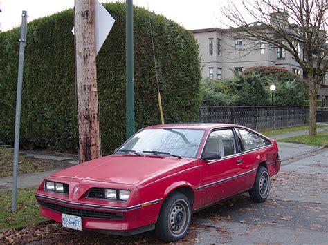 1982 Pontiac J2000 by Parked Cars Vancouver 1982