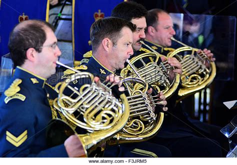 french horn section french musical instruments stock photos french musical