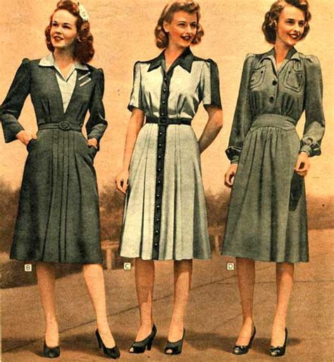 1940s womens fashion 1940s fashion for women girls 40s fashion trends