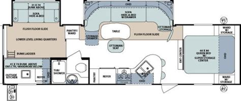 Forest River Rv Floor Plans by Patterson Rv