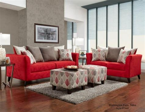 red couch and loveseat red sofa and loveseat red sofas couches loveseats for less
