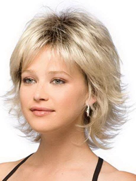 short flippy shag hairstyles short hair with fashionable flippy lines and a face