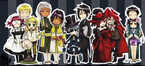 black butler list