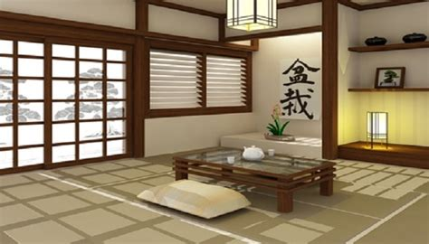 d馗oration chambre japonaise decoration salon japonaise