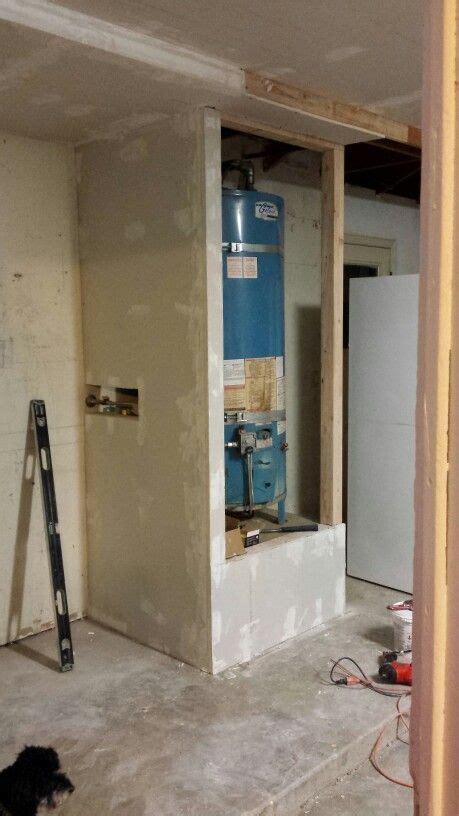 03 04 2016 / Enclosed water heater   Garage   Pinterest
