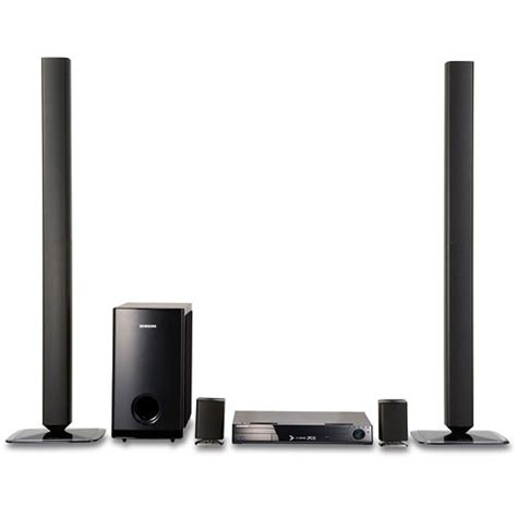 Sharp Home Theater 5 1ch Ht Cn310dvw samsung ht tz512t 5 1 channel home theater system ht tz512t b h