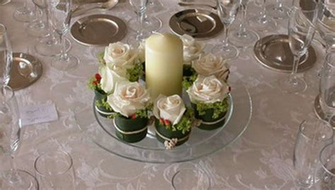 candele centrotavola centrotavola economici matrimonio idee low cost foto