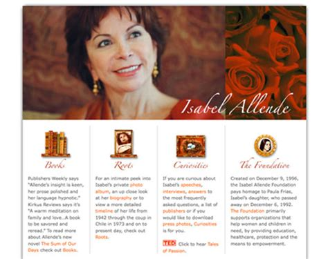 What Makes A Author Website by 8 Great Author Websites Apt Design