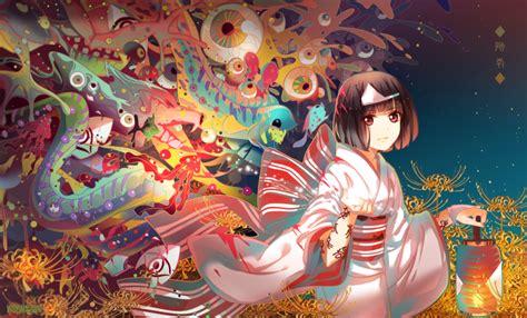 anime girl kimono wallpaper hd anime anime girls noragami nora noragami kimono