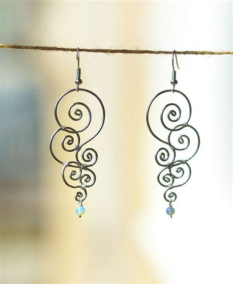 how to make jewelry out of wire wire earrings check it out and try it yourself you ll be