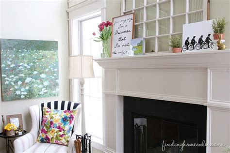 summer decorating ideas finding home farms spring mantel decorating ideas dreaming finding home farms