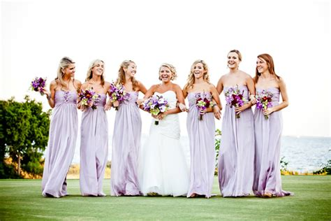 trendy bridesmaid styles lilac bridesmaid dresses for
