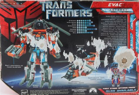Transformers 2007 Allspark Power Voyager Autobots Evac voyager class evac transformers autobot transformerland collector s guide info
