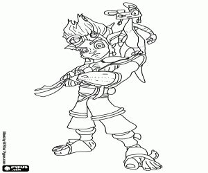 Video Games Miscellaneous Coloring Pages Printable Games Jak And Daxter Coloring Pages