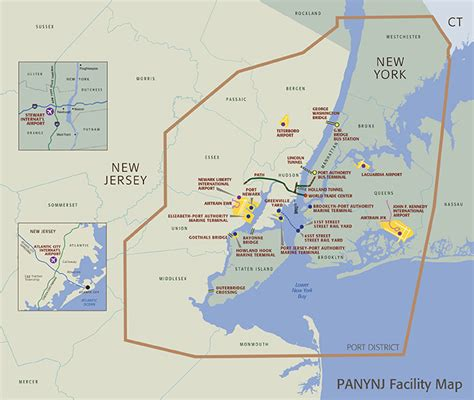 jfk to authority overview of facilities and services about the