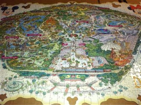 disneyland decorative border puzzle map it s called disneyland park decorative border puzzle thanks