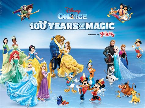 Family Disney On Ice100 Years Of Magic by Disney On Celebrates 100 Years Of Magic Brings