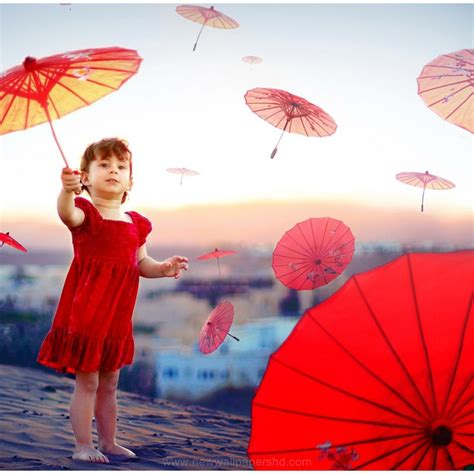 Wallpaper Hd Umbrella Girl | cute little umbrella girl hd wallpaper 9hd wallpapers