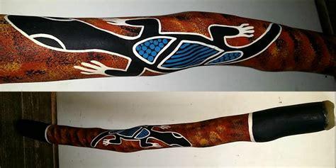 Gartenfiguren Aus Holz 1703 didgeridoo orig eukalyptus aborigines 90cm kaufen im