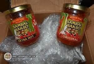 Sambal Terasi Megah Sari ultra spicy megah sari sambal bakso sles the ramen rater