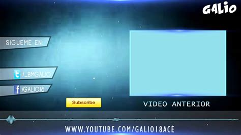 outro template after effects cs6 youtube