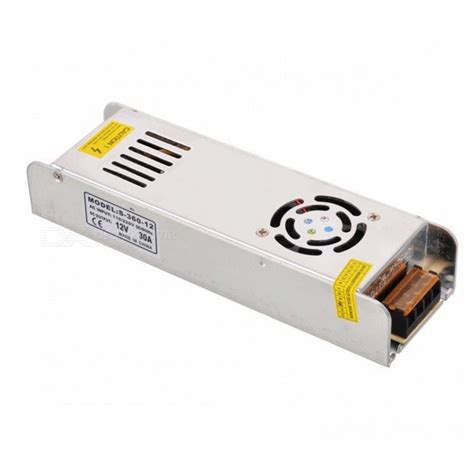 Power Supply 12v 30a Switching ac 220v to dc 12v 30a 360w switching power supply free