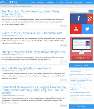 awesome v3 seo ready blogger template 2015 free