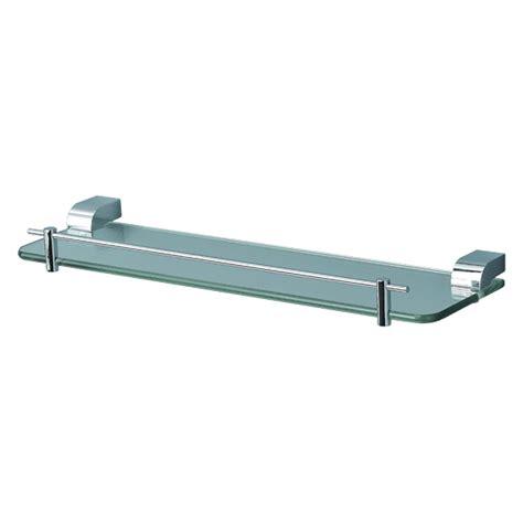 Glass Shelf With Rail For Bathroom by Park Avenue Glass Shelf With Rail Abey Australia